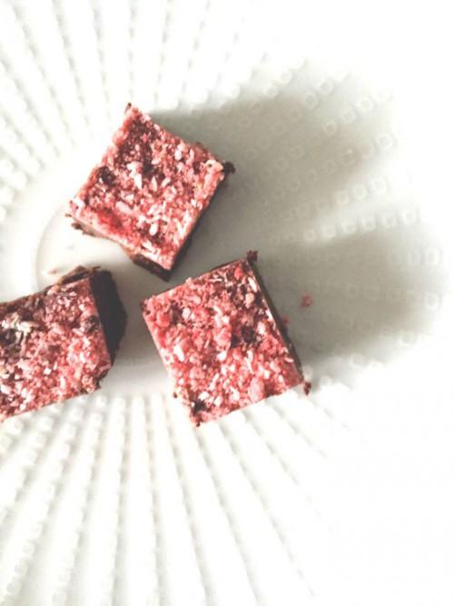 ローストロベリーチョコレートファッジ