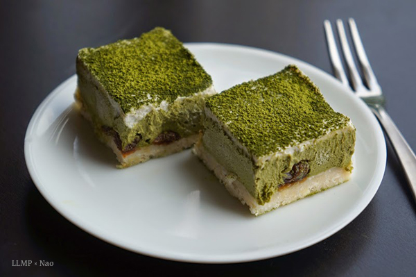 Green Tea Layered Cake