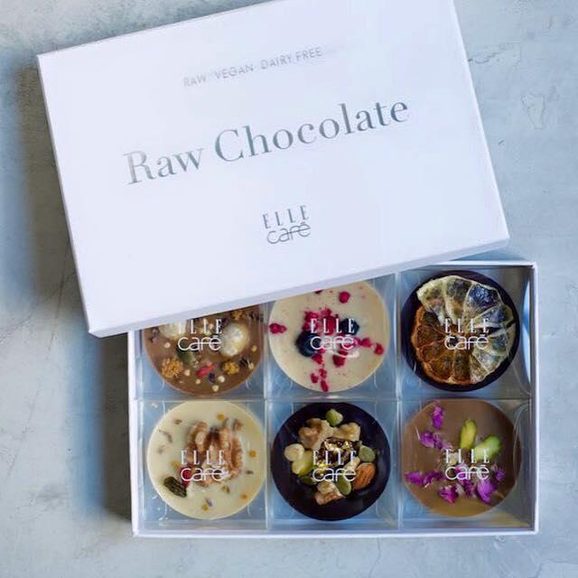 harukaさんのローチョコレート@ELLEcafe1