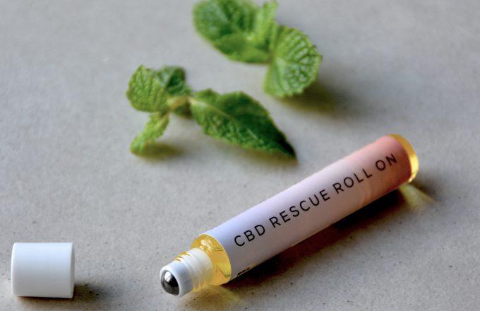 張り詰めた毎日に、やすらぎのひと時を:CBDオイル レスキューロールオン