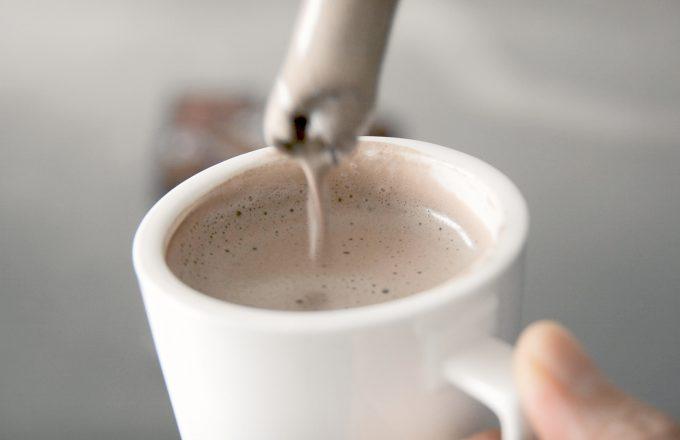 低糖質!ヴィーガンホットチョコレートの作り方(レシピ動画)