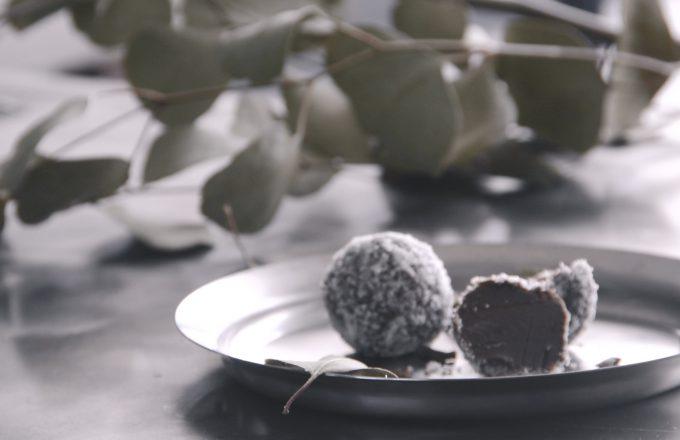 乳製品不使用!なめらかローチョコレートトリュフの作り方(レシピ動画)